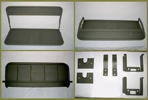 Banco escamoteável para jeep MB/GPW produto idêntico ao original!