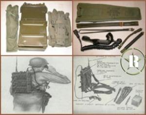 Radio militar PRC 10 - Usado na guerra do vietnã - Completo 1962