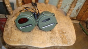 Lanterna traseira para jeep M38 - M38A1 - Produto novo sem uso!