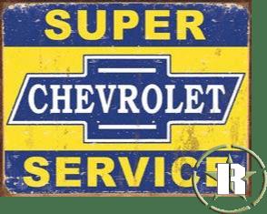 Placa chevrolet americana - 40cm x 30cm - selo holográfico made USA