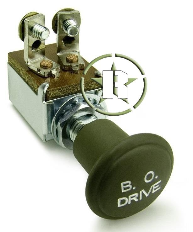 Botão B.O. Usado para liga e desliga do black out