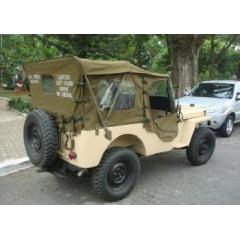 Capota toda fechada para todos os jeeps