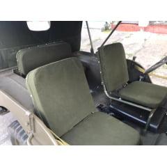 Bancos jeep MB/GPW acompanha espuma pronto para instalar!