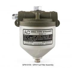 Filtro de gasolina GPW e MB - Produto sob encomenda