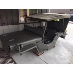 jeep militar mb completo carroceria chassi rodas tudo menos mecanica e eletrica - SOB ENCOMENDA