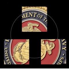 Moeda - Medalha Marines Departament of the Navy - Washington - D.C.
