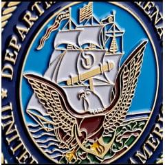 Moeda Navy Departamento militar da marinha americana NAVY Departament